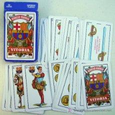 Barajas de cartas: BARAJA DE CARTAS FOURNIER F.C.BARCELONA. Lote 26282305