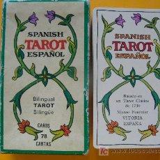 Barajas de cartas: BARAJA DE TAROT DE 1975. REPRODUCCIÓN BARAJA DEL AÑO 1736. TAROT ESPAÑOL. FOURNIER. BILINGÜE. . Lote 13466081