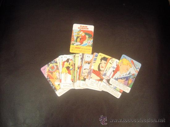 BARAJA DE CARTAS LOS MINIS DE FOURNIER. FLASH GORDON. (Juguetes y Juegos - Cartas y Naipes - Barajas Infantiles)
