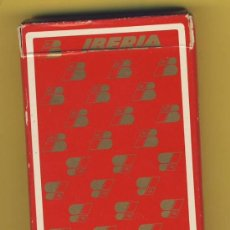 Barajas de cartas: NAIPES.BARAJA. HERACLIO FOURNIER-PUBLICIDAD- LINEA AEREA-IBERIA-POKER- 54 NAIPES. Lote 20276100
