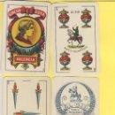Barajas de cartas: NAIPES.BARAJA.-SIMEON DURA -1888-CLASE Nº 27G NUMERADA 0573DORSO AZUL-ALGUNAS CARTAS DETERIORADAS. Lote 20564342