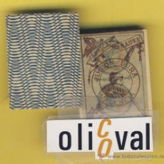 Barajas de cartas: NAIPES.BARAJA.-SIMEON DURA -1888-CLASE INFANTIL -00-SIN DESPRECINTAR-DORSO AZUL-. Lote 20580622