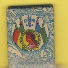 Barajas de cartas: NAIPES.BARAJA.-SIMEON DURA -1888-CLASE INFANTIL -SIN DESPRECINTAR- ENVASE ORIGINAL VERDE- MARRON-. Lote 20580624