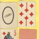 Barajas de cartas: NAIPE.BARAJA.-SIMEON DURA -1888-NAIPES ESPECIALES JUEGO DE LA HUERTA VALENCIANA 74 NAIPES. Lote 20580625