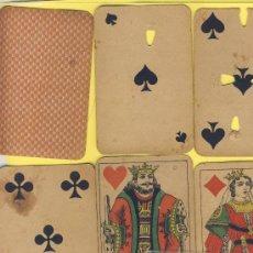 Barajas de cartas: NAIPE-.BARAJA.-SIMEON DURA -1888- -52 NAIPES--POKER-ESPECIAL CASINOS INUTILIZADA VER FOTOGRAFIAS. Lote 20580626