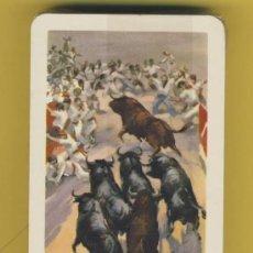 Barajas de cartas: NAIPES.BARAJA. HERACLIO FOURNIER-TAURINAS- ILUSTRACION ANTONIO CASERO -TIMBRE- 54 NAIPES. Lote 21616719