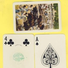 Barajas de cartas: NAIPES.BARAJA. HERACLIO FOURNIER-TAURINAS- ILUSTRACION ANTONIO CASERO -TIMBRE- 54 NAIPES. Lote 20634223