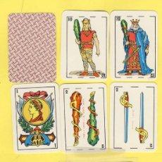 Barajas de cartas: NAIPES.BARAJA. INFANTILES SELVI-VALENCIA-1980 MEDIDAS 32X48MM 40 NAIPES. ENVASE ORIGINAL . Lote 20653159