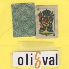 Barajas de cartas: NAIPES.BARAJA. INFANTILES- AÑOS 40 MEDIDAS 32X25MM 40 NAIPES ENVASE NO ORIGNAL . Lote 21616727
