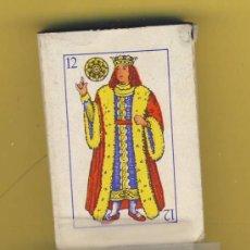 Barajas de cartas: NAIPES.BARAJA. INFANTILES- AÑOS 60 MEDIDAS 50X34MM 48NAIPES ENVASE ORIGNAL DIFERENTES. Lote 23327632