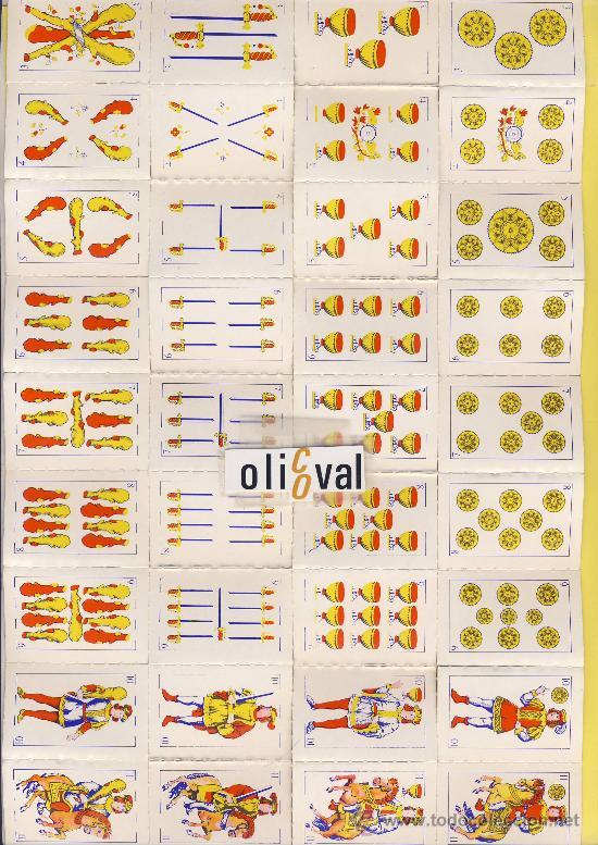 Barajas de cartas: N.B.I.016 - Foto 2 - 20517470