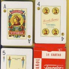 Barajas de cartas: NAIPE.BARAJA. HERACLIO FOURNIER-PUBLICIDAD-CITROEN -POKER ESPAÑOL 54 NAIPES. Lote 20517477