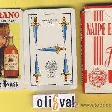 Barajas de cartas: NAIPE.BARAJA. HERACLIO FOURNIER- PUBLICIDAD SOBERANO TIMBRE 3 .1P 1964-40 NAIPES-ESPAÑOLES. Lote 20539753