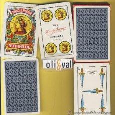 Barajas de cartas - . NAIPES-BARAJAS . HERACLIO FOURNIER- PUBLICIDAD RENAULT-40 NAIPES-ESPAÑOLES - 20539755