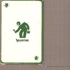 Barajas de cartas: BARAJA NAIPES CARTAS - VALENTINE. Lote 20379779