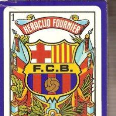 Barajas de cartas: BARAJA NAIPES CARTAS - F.C.BARCELONA & BARÇA. Lote 20385109