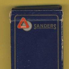 Barajas de cartas: NAIPE.BARAJA. -CARTAS MUNDI-BELGICA -PUBLICIDAD-- SANDERS-- 54 NAIPES POKER. Lote 21616717