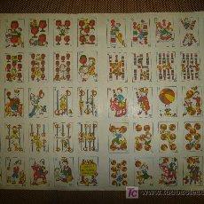 Barajas de cartas: RECORTABLE DE JUEGO DE NAIPES ECONOMICOS. Lote 14092166
