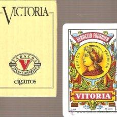 Barajas de cartas: BARAJA NAIPES CARTAS - VICTORIA. Lote 20789475