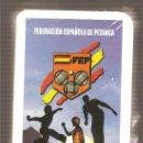 Barajas de cartas: BARAJA FEDERACIÓN ESPAÑOLA DE PETANCA - BOCHAS - SIN DESPRECINTAR. Lote 26236290