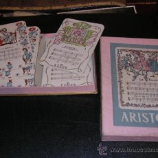 Barajas de cartas: CAJA DE BARAJA ARISTON,48 CARTAS,TEMA DE MUSICA,CAJA17,512,5 CM.BARAJA11X7,5 CM.-. Lote 14309364