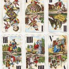 Barajas de cartas - tarot piatnik nº 1936.- 54 cartas.- viena siglo xiv.- caja e instrucciones.- sin estrenar.- año 76 - 149903320