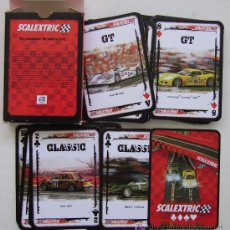 Barajas de cartas: BARAJA DE CARTAS SCALEXTRIC POKER COLLECTION. Lote 26508358