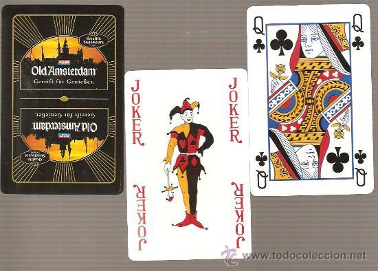 BARAJA NAIPES CARTAS : OLD AMSTERDAM - POKER (Juguetes y Juegos - Cartas y Naipes - Otras Barajas)
