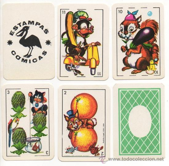 Barajas de cartas: 20.265 BARAJA CARTAS ZOO COMIC´S COMIC ESTAMPAS COMICAS TIPO ESPAÑOL NAIPES 1ª EDICION 1968 INFANTIL - Foto 2 - 222019941