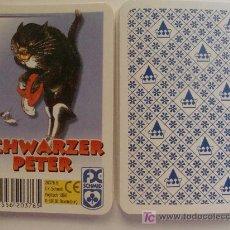 Barajas de cartas: BARAJA DE CARTAS DE ALEMANIA. GATO NEGRO CON BOTAS. BLACK PETER. OLD MAID. SCHWARZER PETER. . Lote 14745202