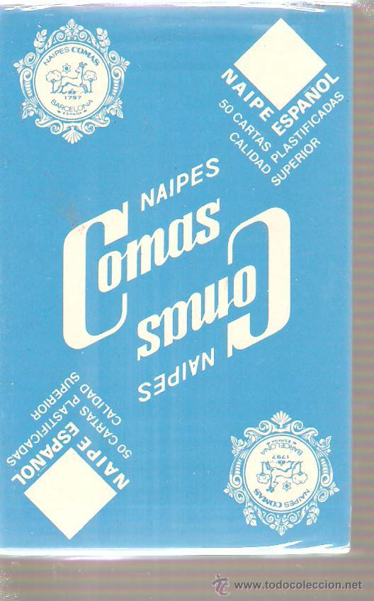BARAJA NAIPES CARTAS - NAIPE ESPAÑOL - NAIPES COMAS (Juguetes y Juegos - Cartas y Naipes - Otras Barajas)