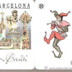 Barajas de cartas: BARAJA NAIPES CARTAS - BARCELONA BAUDÓ. Lote 20434601