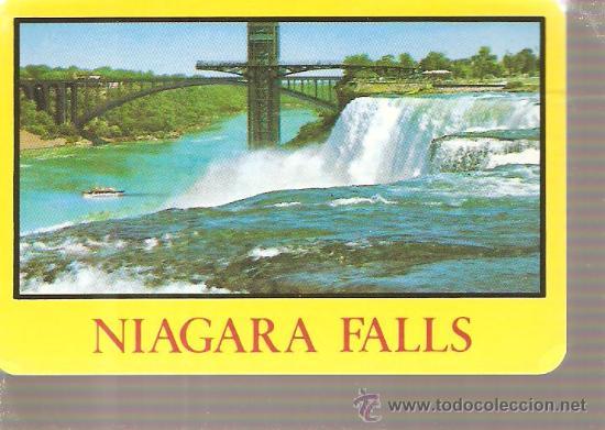 Barajas de cartas: BARAJA NAIPES CARTAS - NIAGARA FALLS - Foto 2 - 20498293