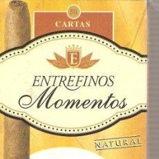 Barajas de cartas: BARAJA NAIPES CARTAS - ENTREFINOS MOMENTOS . Lote 26478613