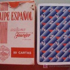 Jeux de cartes: BARAJA DE CARTAS ESPAÑOLA. FOURNIER. MARCA AD ? 40 / 50 NAIPES. . Lote 15020645