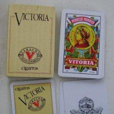 Barajas de cartas: BARAJA DE CARTAS FOURNIER CIGARROS VICTORIA . Lote 26282303