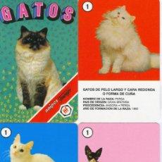 Barajas de cartas: BARAJA INFANTIL GATOS. Lote 151416364