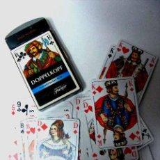 Barajas de cartas: BARAJA CARTAS POKER DOPPELKOPF, FRANZÖSISCHES BILD, FOURNIER. Lote 15343769