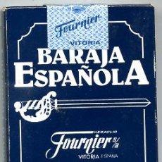 Barajas de cartas: BARAJA CARTAS , BARAJA ESPAÑOLA, CON CAJA SIN ABRIR FOURNIER , C17. Lote 25927759