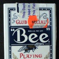 Barajas de cartas: BARAJA DE POKER-MARCA BEE-MADE IN USA. Lote 26571918