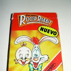 Jeux de cartes: BARAJA CARTAS DE FOURNIER: QUIÉN ENGAÑÓ A ROGER RABBIT. 1987. 33 CARTAS.. Lote 26397898