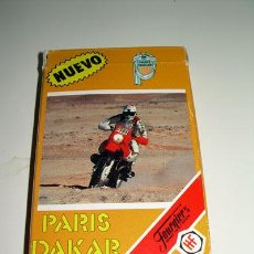 Barajas de cartas: BARAJA CARTAS DE FOURNIER: PARIS DAKAR 33 CARTAS. NUEVA 1988. Lote 26397897