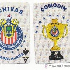 Jeux de cartes: MEX11 BARAJA DE CARTAS DE POKER FUTBOL CHIVAS GUADALAJARA MEXICO NAIPES. Lote 58264943