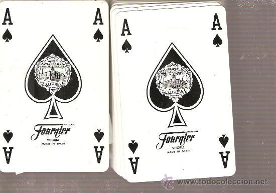 BARAJA NAIPES CARTAS - POKER DE HERACLIO FOURNIER (Juguetes y Juegos - Cartas y Naipes - Barajas de Póker)