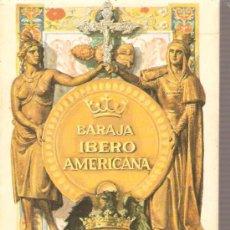 Barajas de cartas: BARAJA NAIPES CARTAS - BARAJA IBERO AMERICANA . Lote 26516627