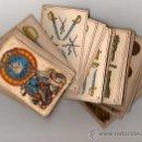 Barajas de cartas: BARAJA ESPAÑOLA, POLITICA DE 48 CARTAS, 1872 BARCELONA, COMPLETA, ANTIGUA, NO COPIA ,. Lote 27431814
