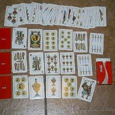 Barajas de cartas: 50 CARTAS OBSEQUIO COCA COLA BARAJA ESPAÑOLA. Lote 26774019