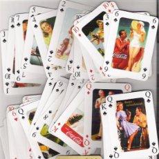 Barajas de cartas - BARAJA PUBLICITARIA DE COCA COLA, TODOS LOS NAIPES SON DIFERENTES, 55 CARTAS DE POKER. - 49885398