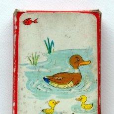 Barajas de cartas: ANTIGUA BARAJA INFANTIL DE EDITORIAL ZARAGOZANO. EL JUEGO DE LA PAREJAS. 1959. Lote 25746221