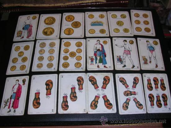 Barajas de cartas: BARAJA DEPORTIVA,BOXEO,CHOCOLATES AMATLLER,COMPLETA,48 CARTAS,SEÑALES DE USO,VER FOTOS ADICONALES. - Foto 2 - 20009950